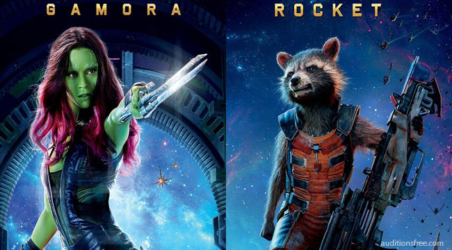 Guardians 2 Gamora and rocket