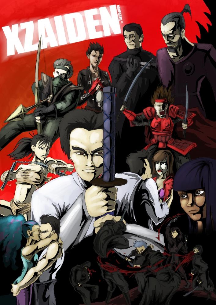 Nonpareil Comics web series Xzaiden