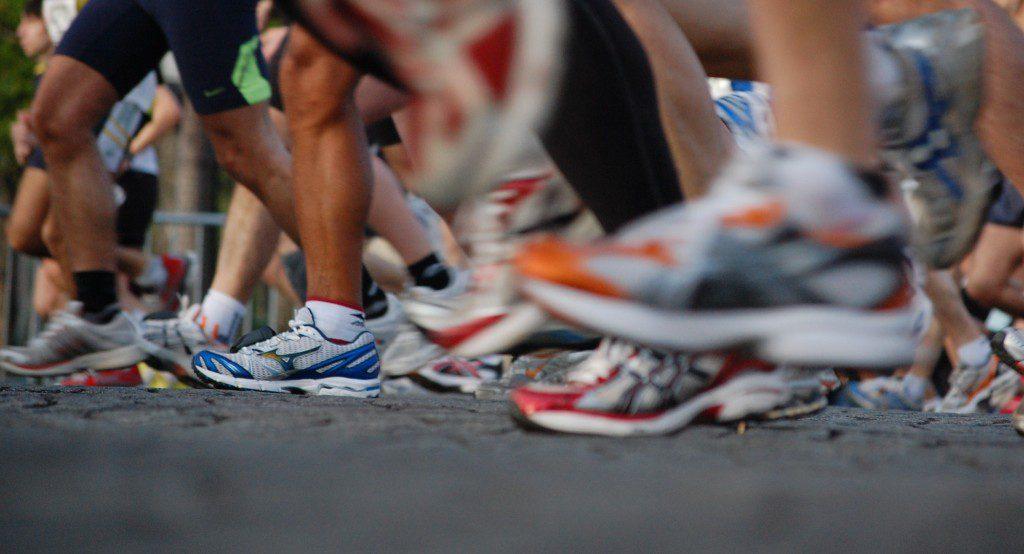 marathon runner for Seattle video project