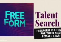 ABC Family Free Form online talent search and auditions