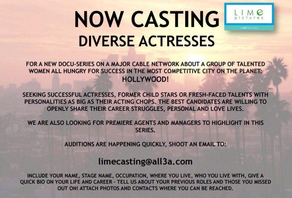 Diverse actresses