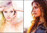 Celebrity stylist casting hair models