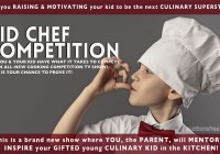 Kid cooking show