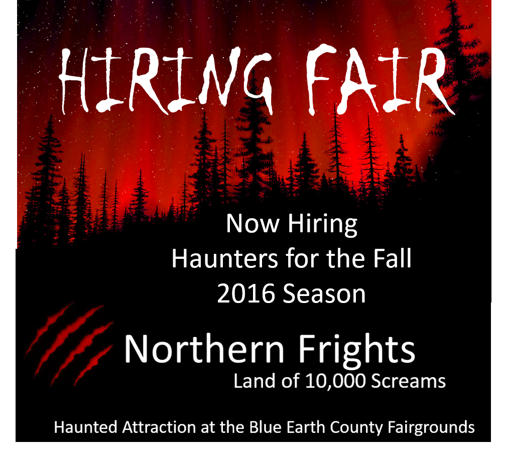 Northern Frights Auditions