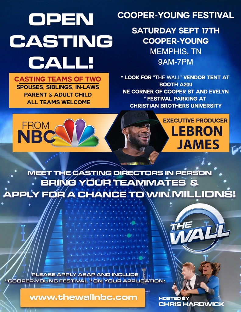 NBC The Wall Memphis Auditions