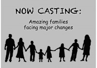 family casting reality TV show
