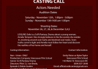 Exite film auditions in Vancouver