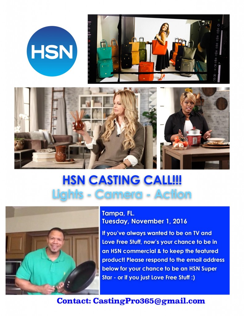 HSN model auditions