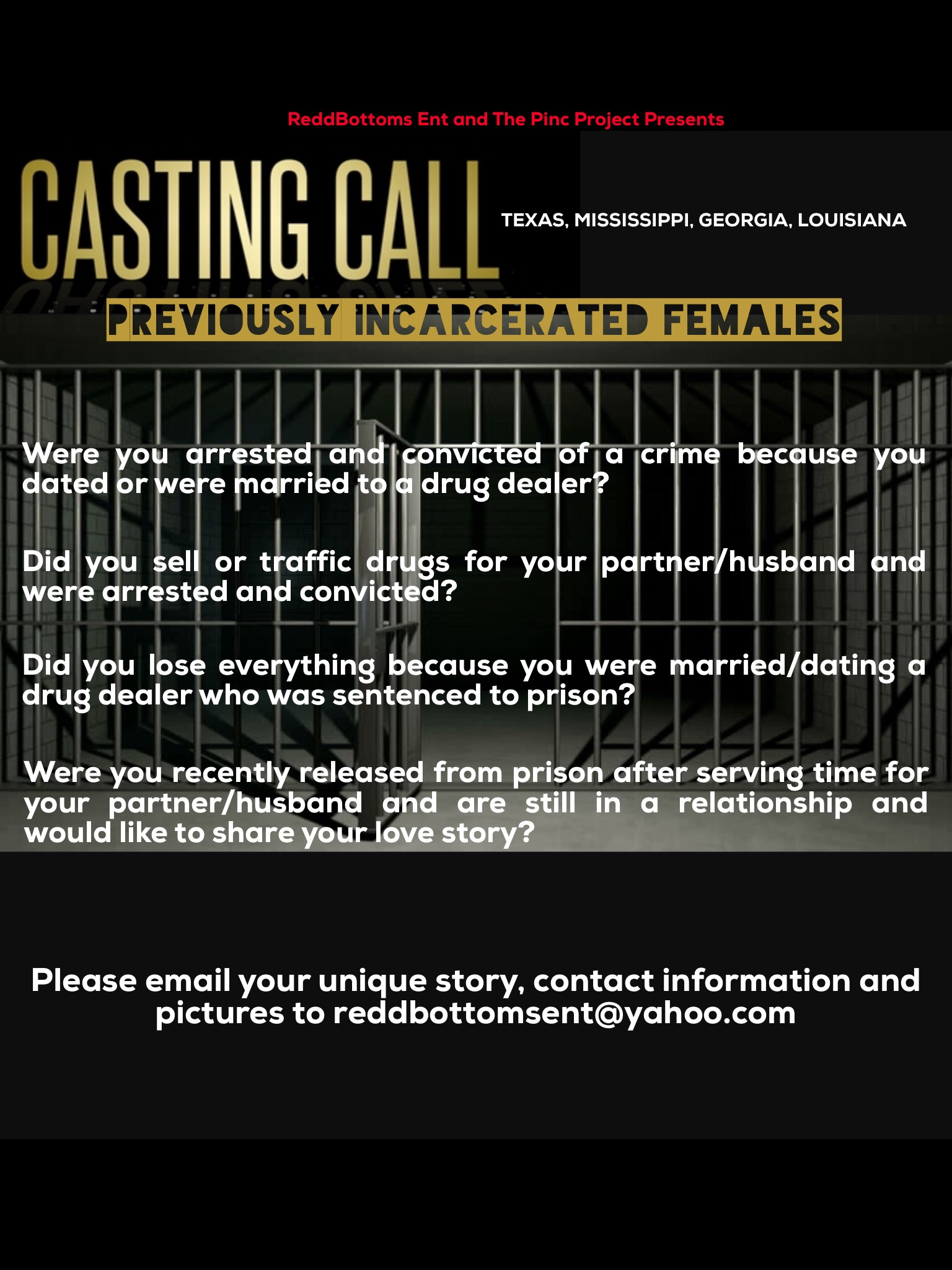 Dating reality show casting