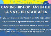 room makeover hip hop casting