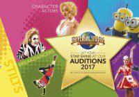 Universal Studios Singapore Audition Tour 2017