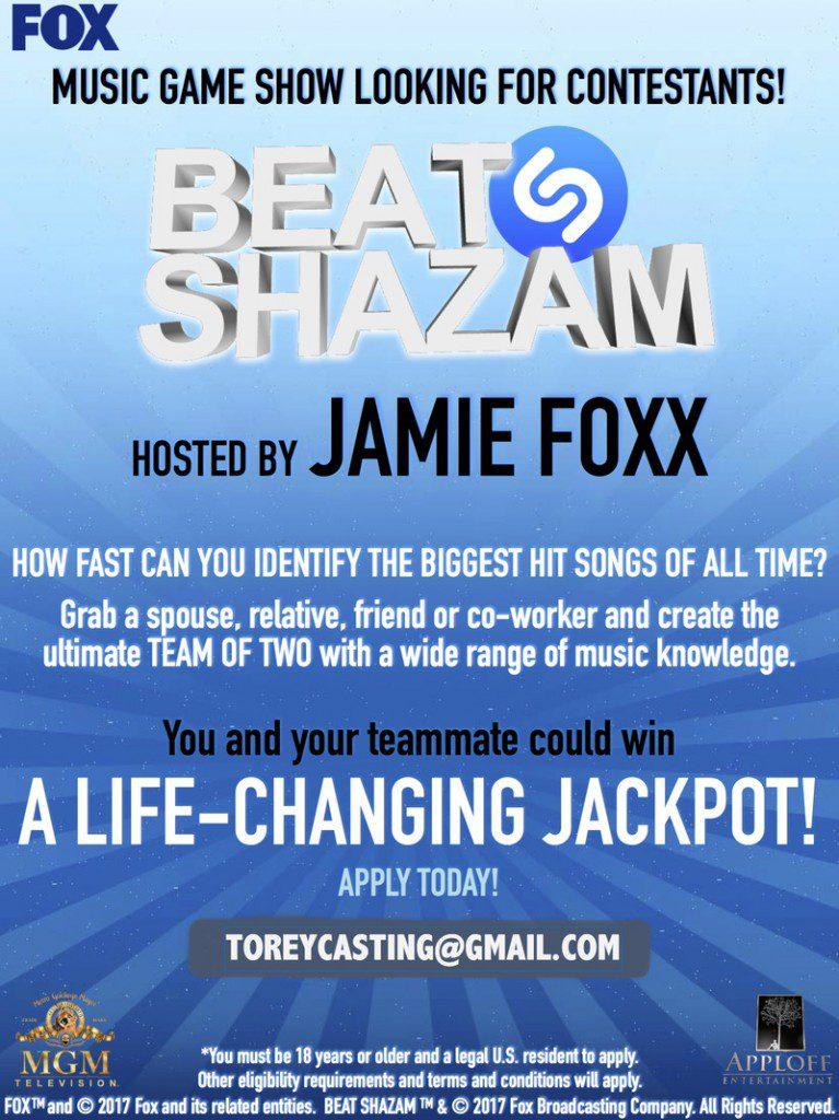Beat Shazam Casting Call