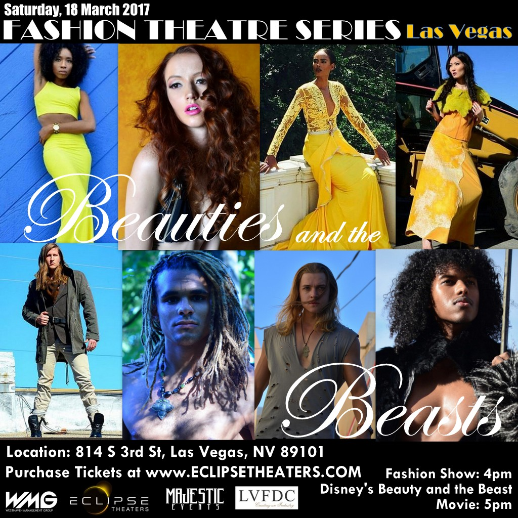 Disney's Beauty and the Beast movie premier fashion show
