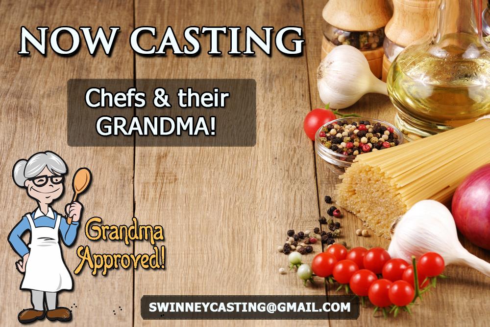 Grandma cooking show