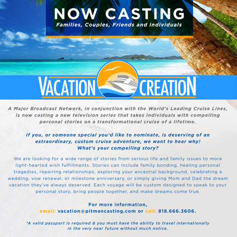 Casting Families Nationwide Who Deserve An International