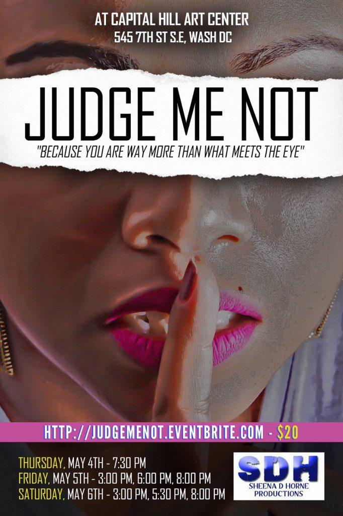 Judge Me Not