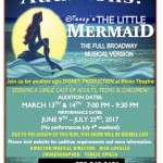 """Auditions for Child, Teen and Adult Actors in Pompton Lakes, NJ for """"The Little Mermaid"""""""