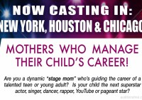 Momager casting notice