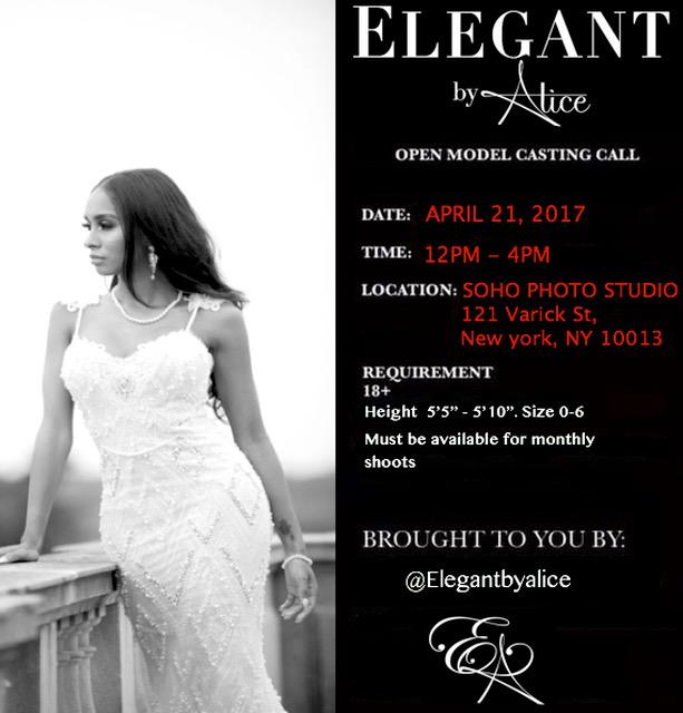 Open Model Casting Calls Nyc