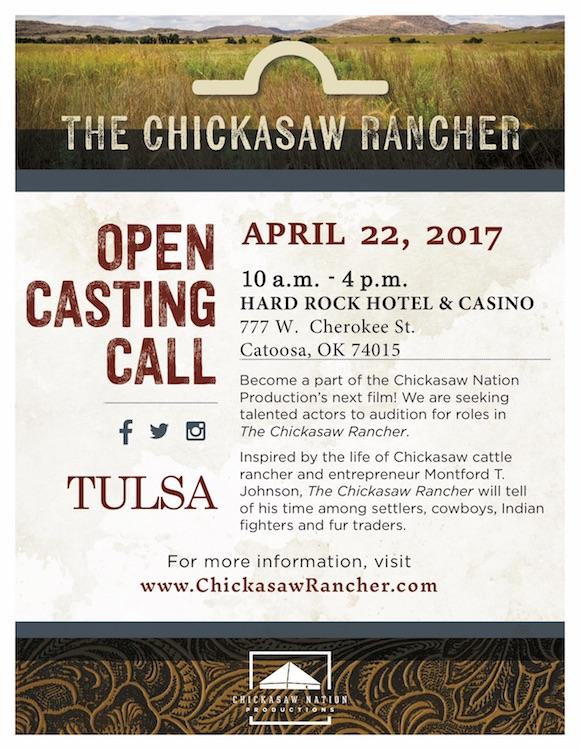 Movie auditions in Tulsa Oklahoma