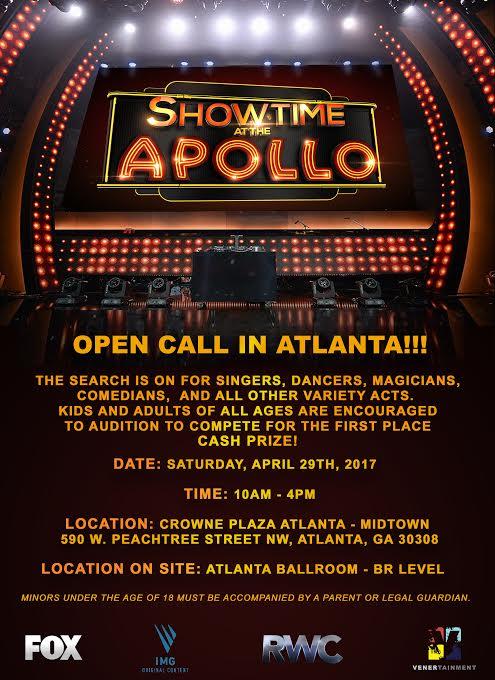 Showtime At the Apollo Auditions - Apollo Theater