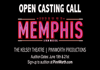 Open Casting call for Memphis Musical