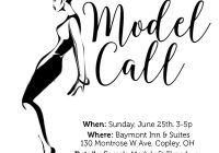 Model casting call in Akron Ohio