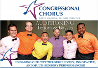 Congressional Chorus singer auditions