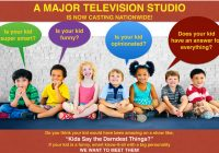 Kids Say reality show auditions