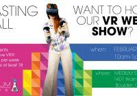 Boulder CO auditions for VR wed show