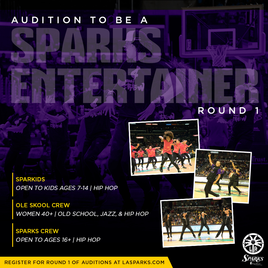 NBA cheerleader and dancer auditions in L.A.
