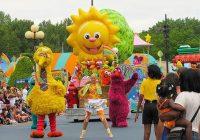 Sesame Street Parade casting
