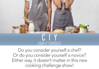 Cook It Yourself auditions