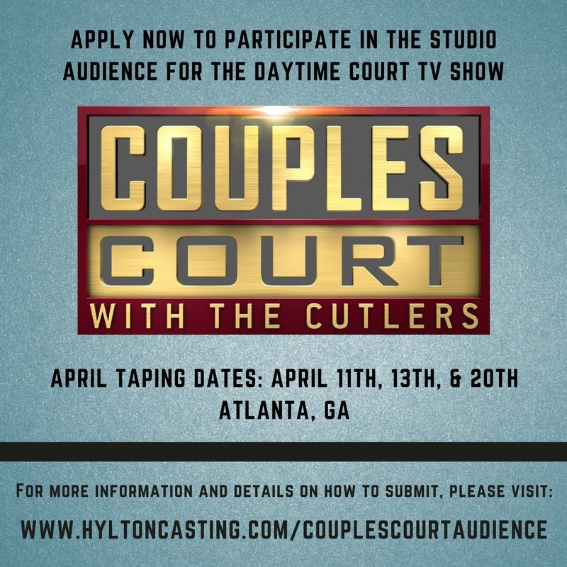 Couples Court audience casting