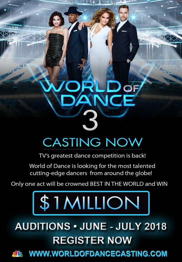 Casting call for World of Dance