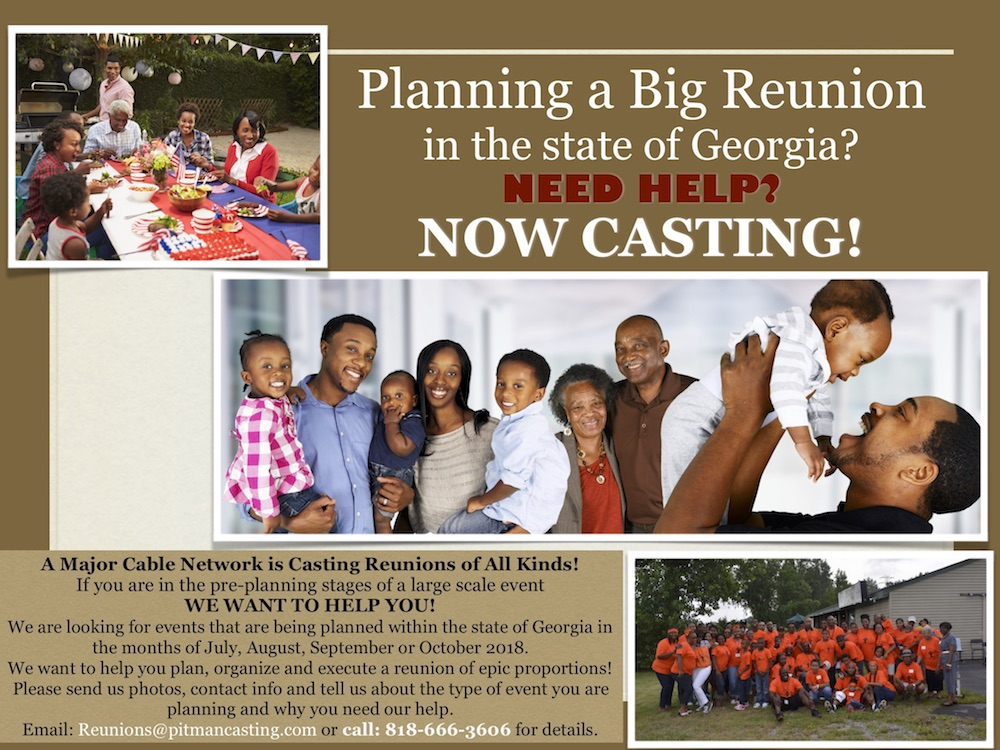 Casting Black Families in Atlanta Who Want The Ultimate