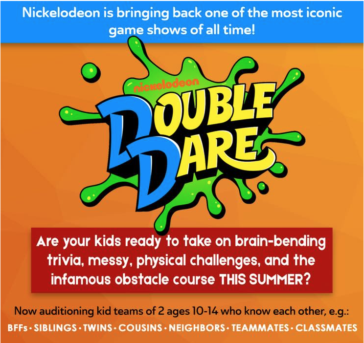 Casting Call for New Nickelodeon Show