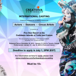 Nationwide & Worldwide Auditions for Performers For International Shows in Turks and Caicos