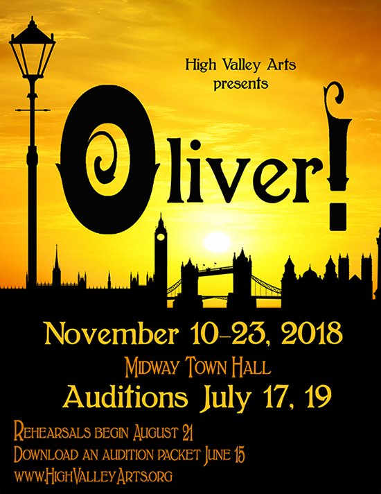 Auditions In Midway Utah For Production Of Quot Oliver