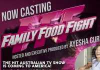 Family food fight casting call