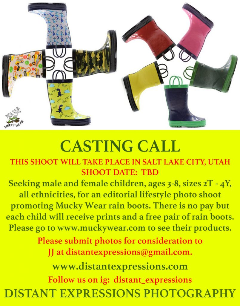 Kids auditions in Salt Lake City