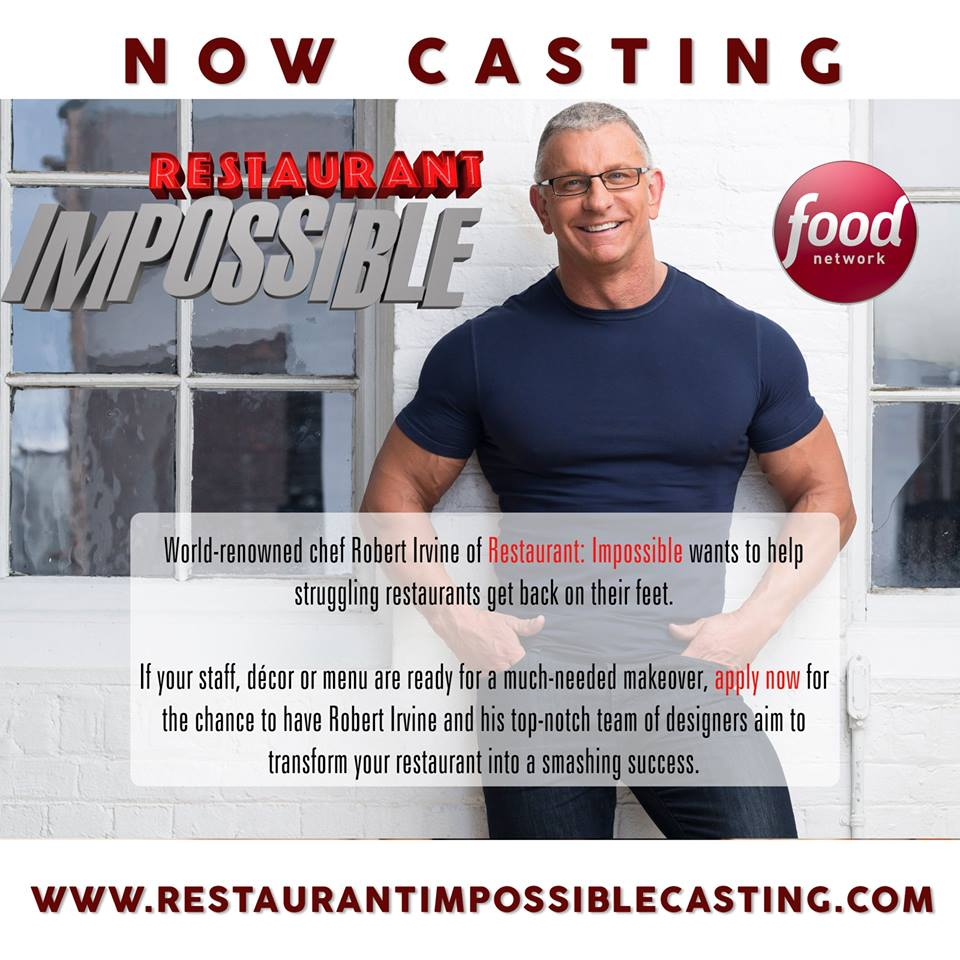 Kitchen Impossible Updates: Restaurant Impossible Casting Restaurants Nationwide