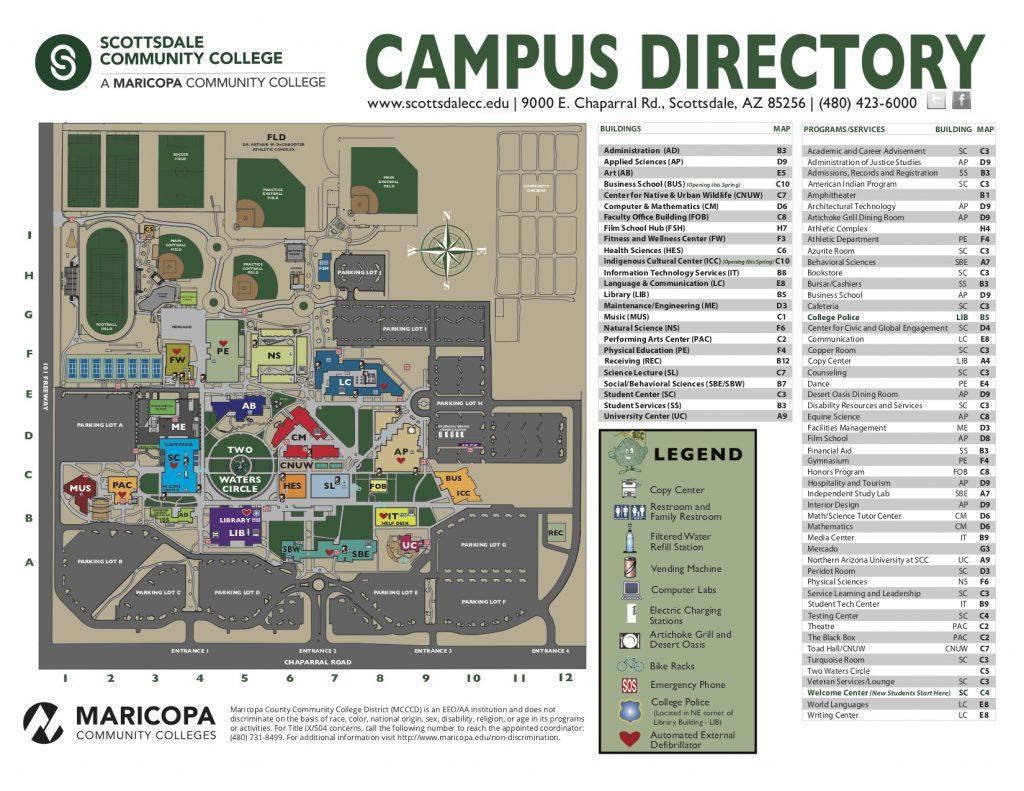 scottsdale community college campus map Scottsdale Arizona Casting Call For Student Film Auditions Free scottsdale community college campus map