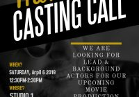 Movie casting call
