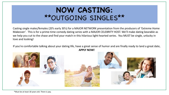 host of extreme dating