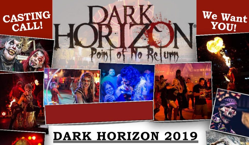 Open Auditions in Orlando for Dark Horizon | Auditions Free