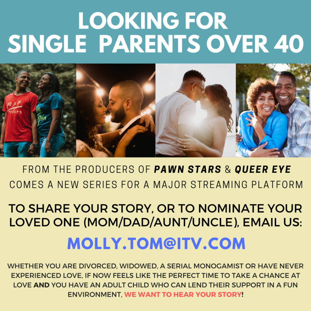 Casting People Over 40 That Are Still Looking For True Love Auditions Free