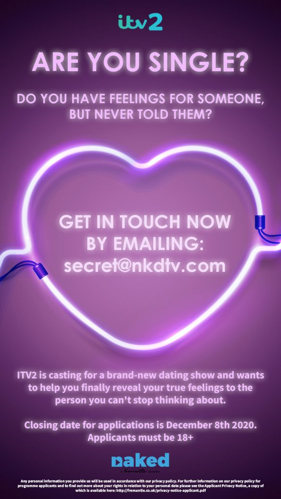 dating shows casting calls
